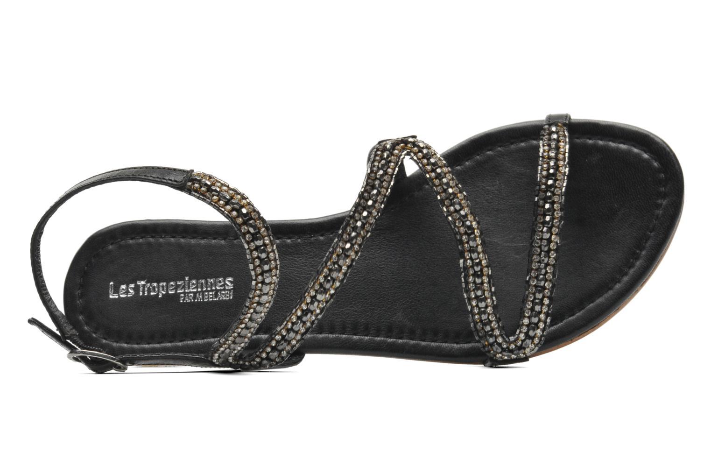 Sandales et nu-pieds Les Tropéziennes par M Belarbi Jolane Noir vue gauche