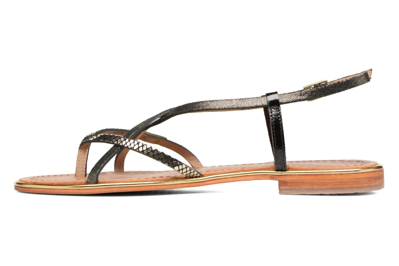 Sandals Les Tropéziennes par M Belarbi Monaco Black front view