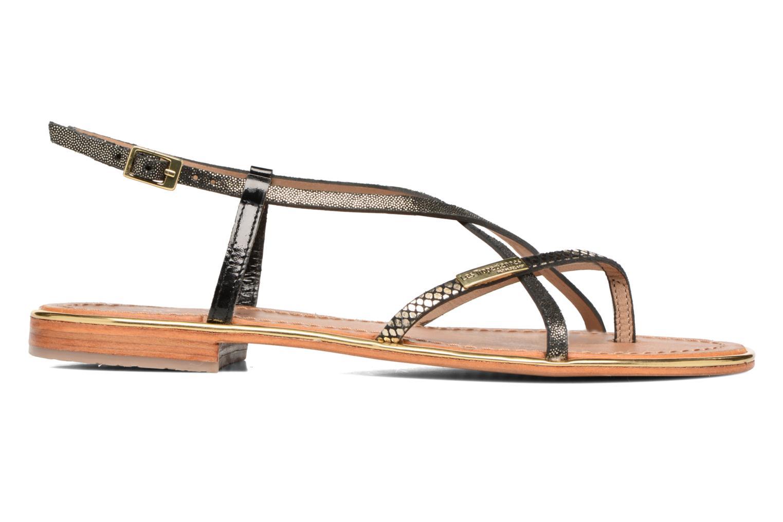 Sandales et nu-pieds Les Tropéziennes par M Belarbi Monaco Noir vue derrière