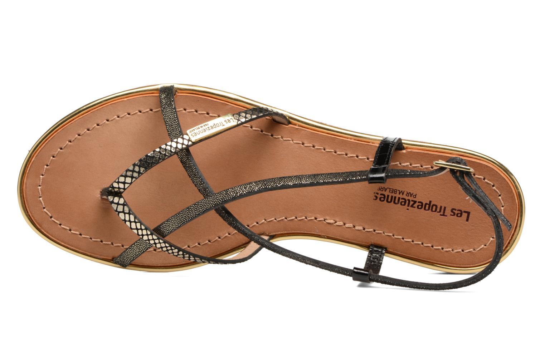 Sandals Les Tropéziennes par M Belarbi Monaco Black view from the left