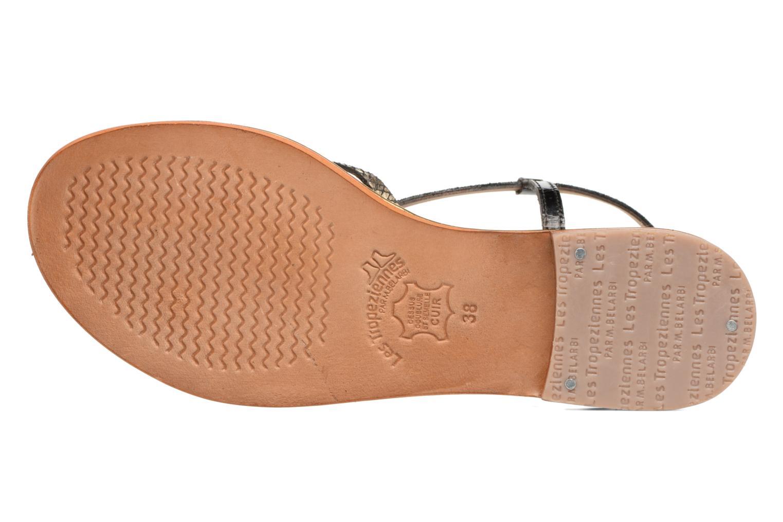 Sandales et nu-pieds Les Tropéziennes par M Belarbi Monaco Noir vue haut