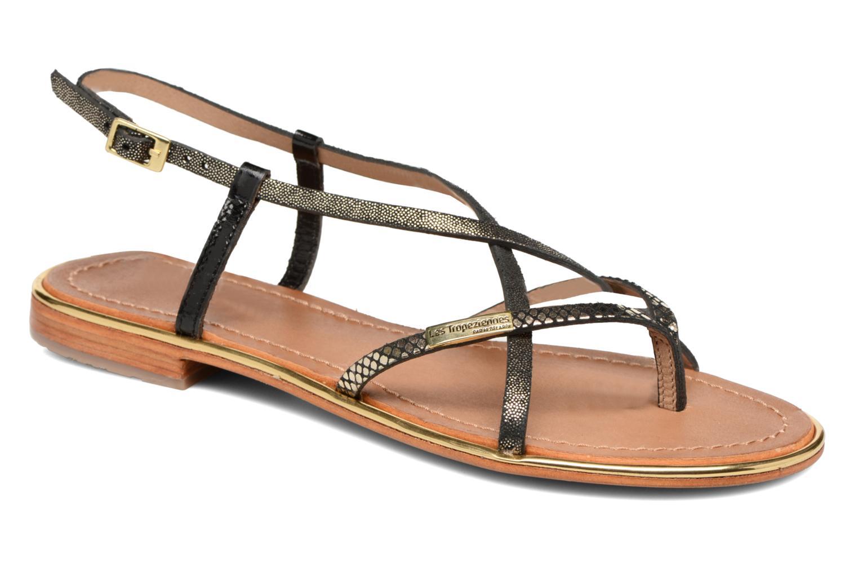 Sandaler Les Tropéziennes par M Belarbi Monaco Sort detaljeret billede af skoene