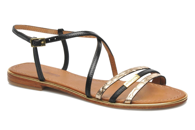 Sandales et nu,pieds Les Tropéziennes par M Belarbi Balise Noir vue  détail/paire