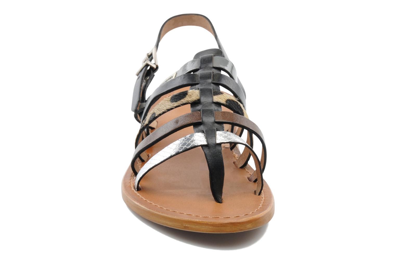 Sandales et nu-pieds Les Tropéziennes par M Belarbi Harpe Multicolore vue portées chaussures