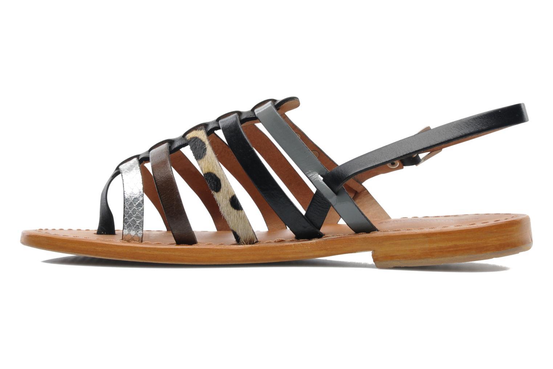 Sandales et nu-pieds Les Tropéziennes par M Belarbi Harpe Multicolore vue face
