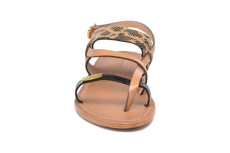 Sandales et nu-pieds Les Tropéziennes par M Belarbi Baule Beige vue portées chaussures