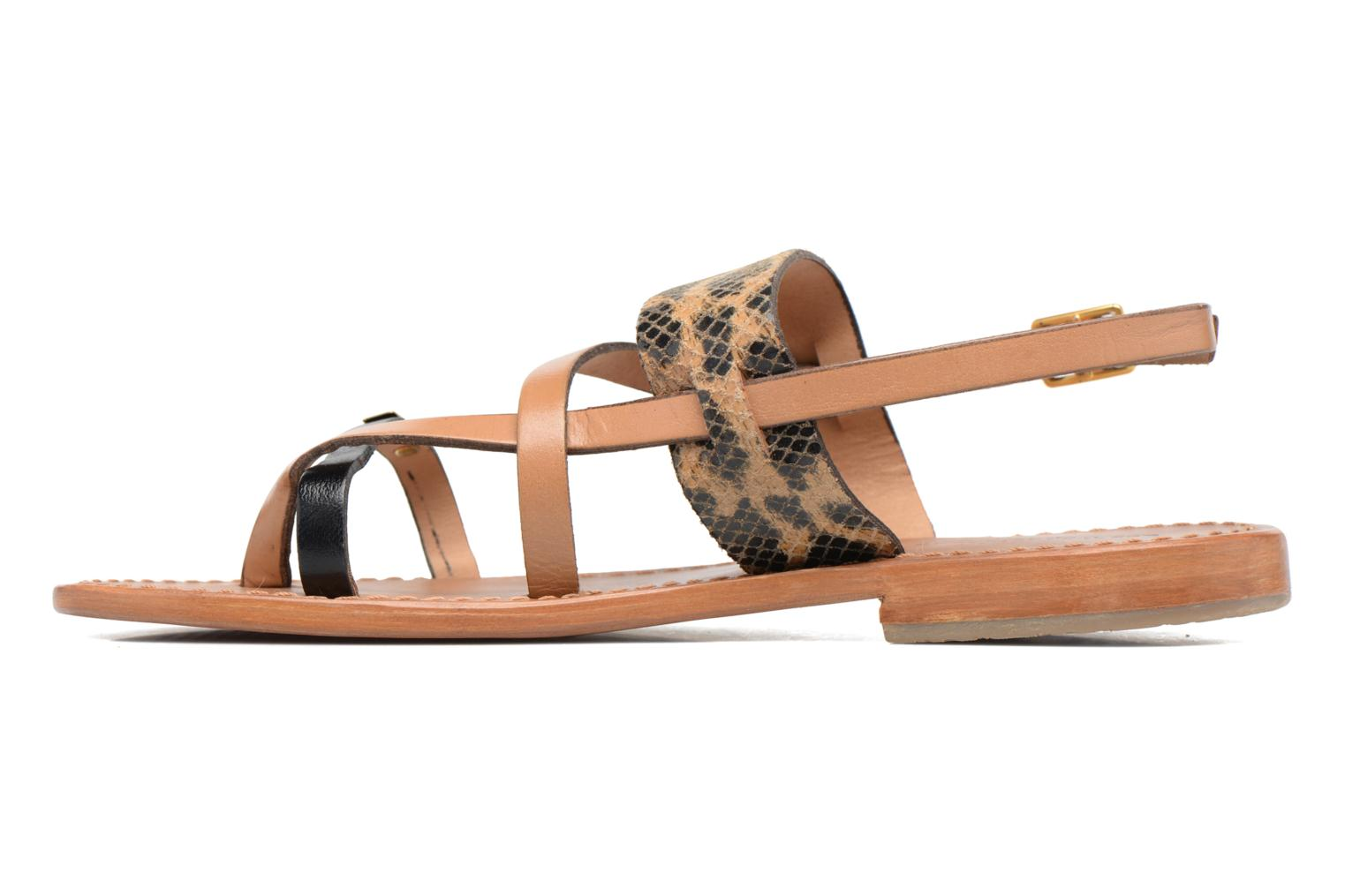 Sandales et nu-pieds Les Tropéziennes par M Belarbi Baule Beige vue face