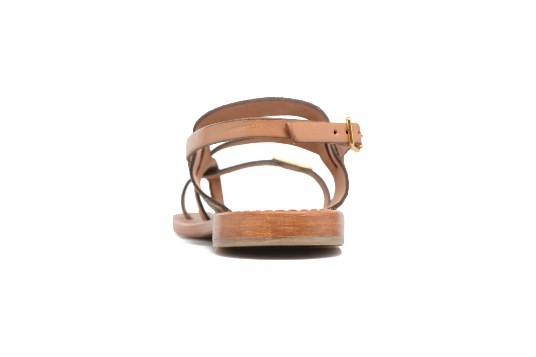 Sandales et nu-pieds Les Tropéziennes par M Belarbi Baule Beige vue droite