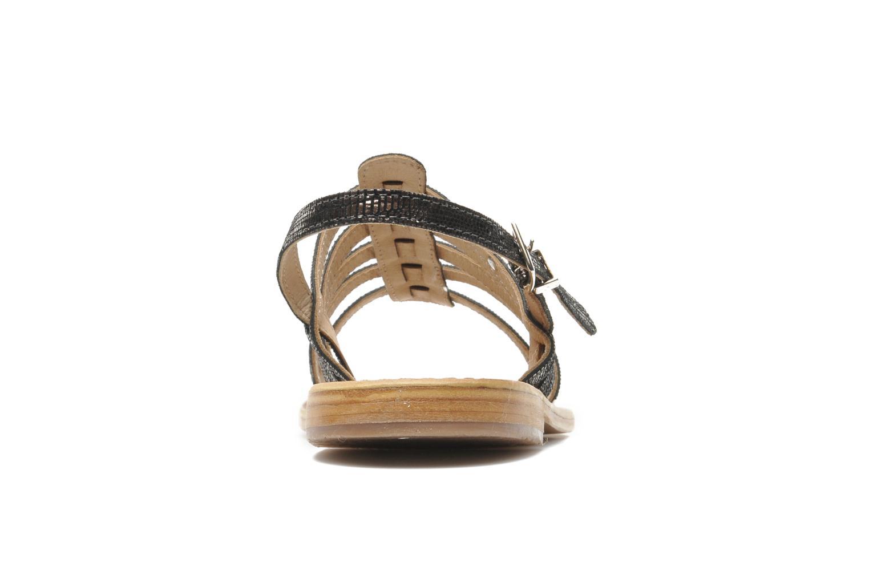 Sandalen Les Tropéziennes par M Belarbi Brillant silber ansicht von rechts