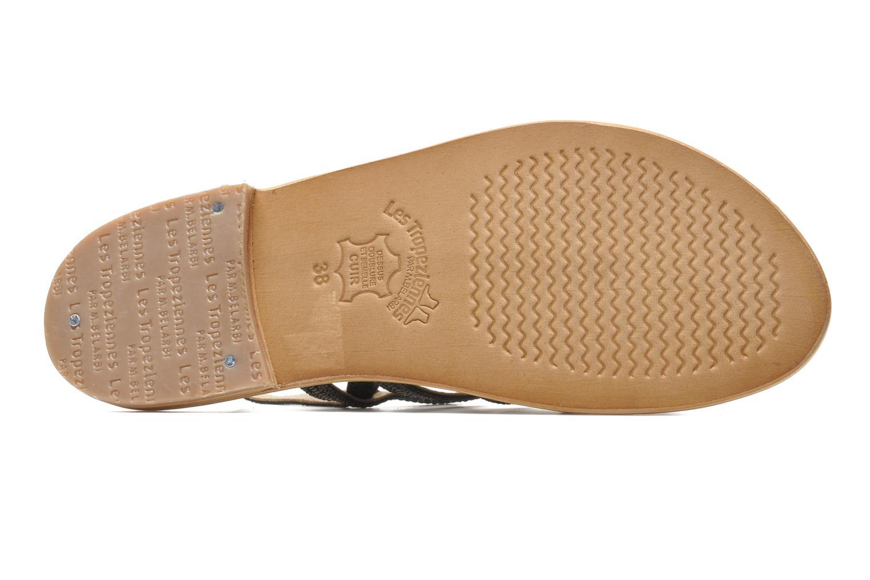 Sandales et nu-pieds Les Tropéziennes par M Belarbi Brillant Argent vue haut