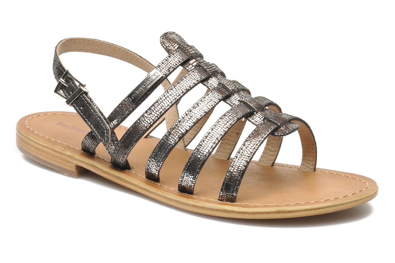 Sandales et nu-pieds Les Tropéziennes par M Belarbi Brillant Argent vue détail/paire
