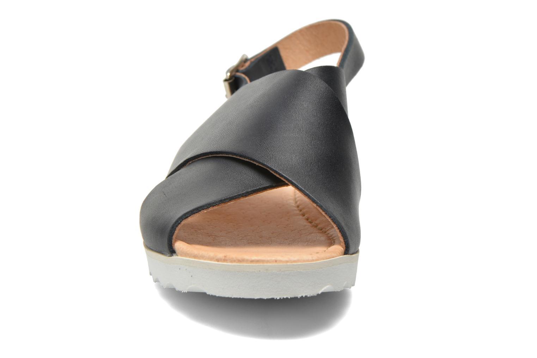 Sandales et nu-pieds Yep Benny Bleu vue portées chaussures