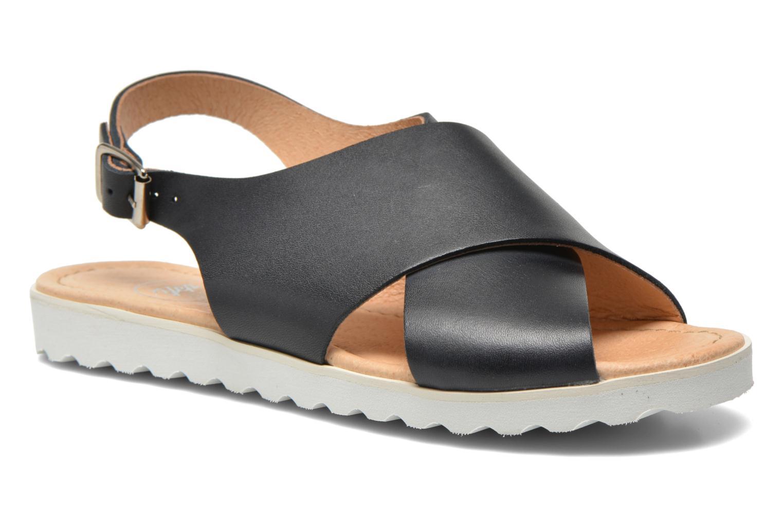 Sandales et nu-pieds Yep Benny Bleu vue détail/paire