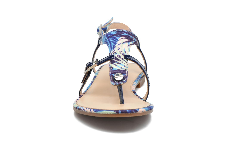 Sandalen JB MARTIN 2Gaelia blau schuhe getragen