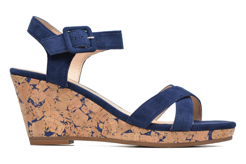 Sandales et nu-pieds JB MARTIN Querida Bleu vue derrière