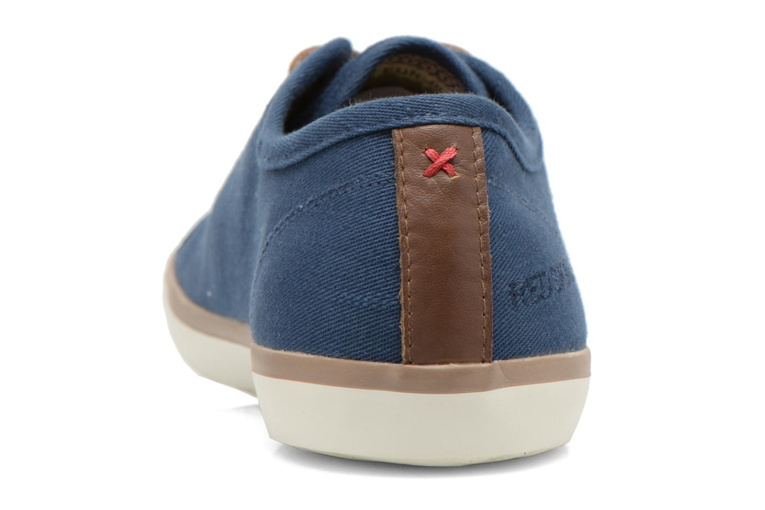 Trainers Redskins Esmer Blue view from the right