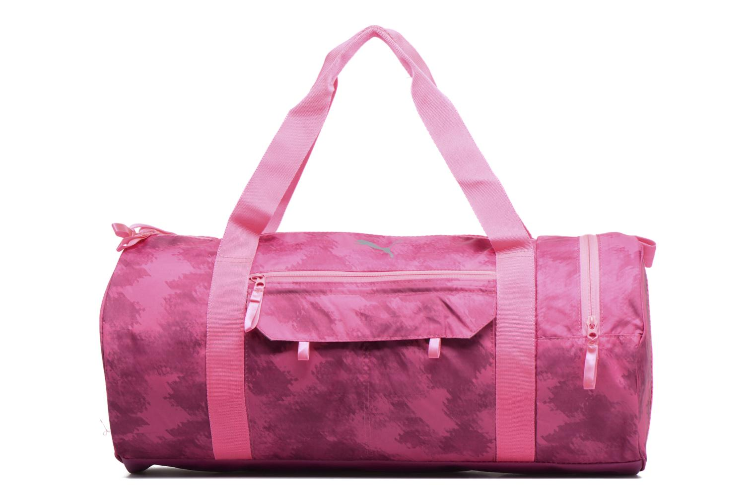 Sporttassen Puma Fit AT Sports Duffle Roze detail