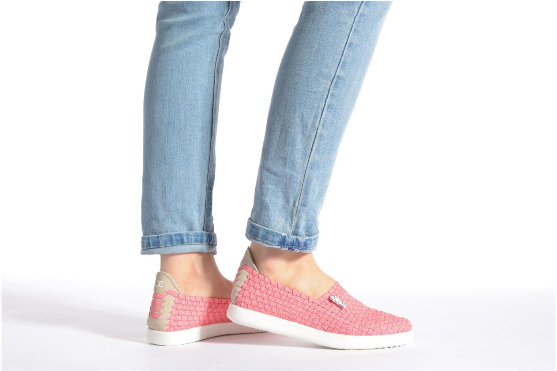 Sneakers DUDE E-last simple Hvid se forneden