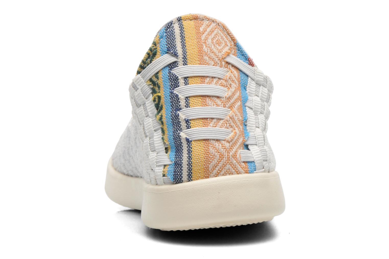 Baskets DUDE E-last simple Blanc vue droite