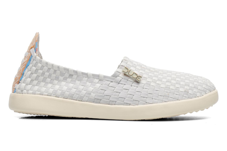 Sneakers DUDE E-last simple Bianco immagine posteriore