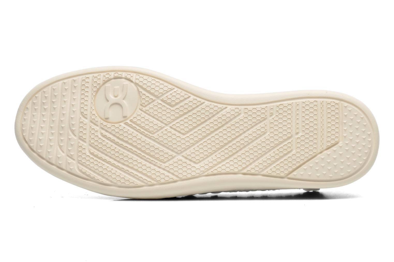 Sneakers DUDE E-last simple Bianco immagine dall'alto