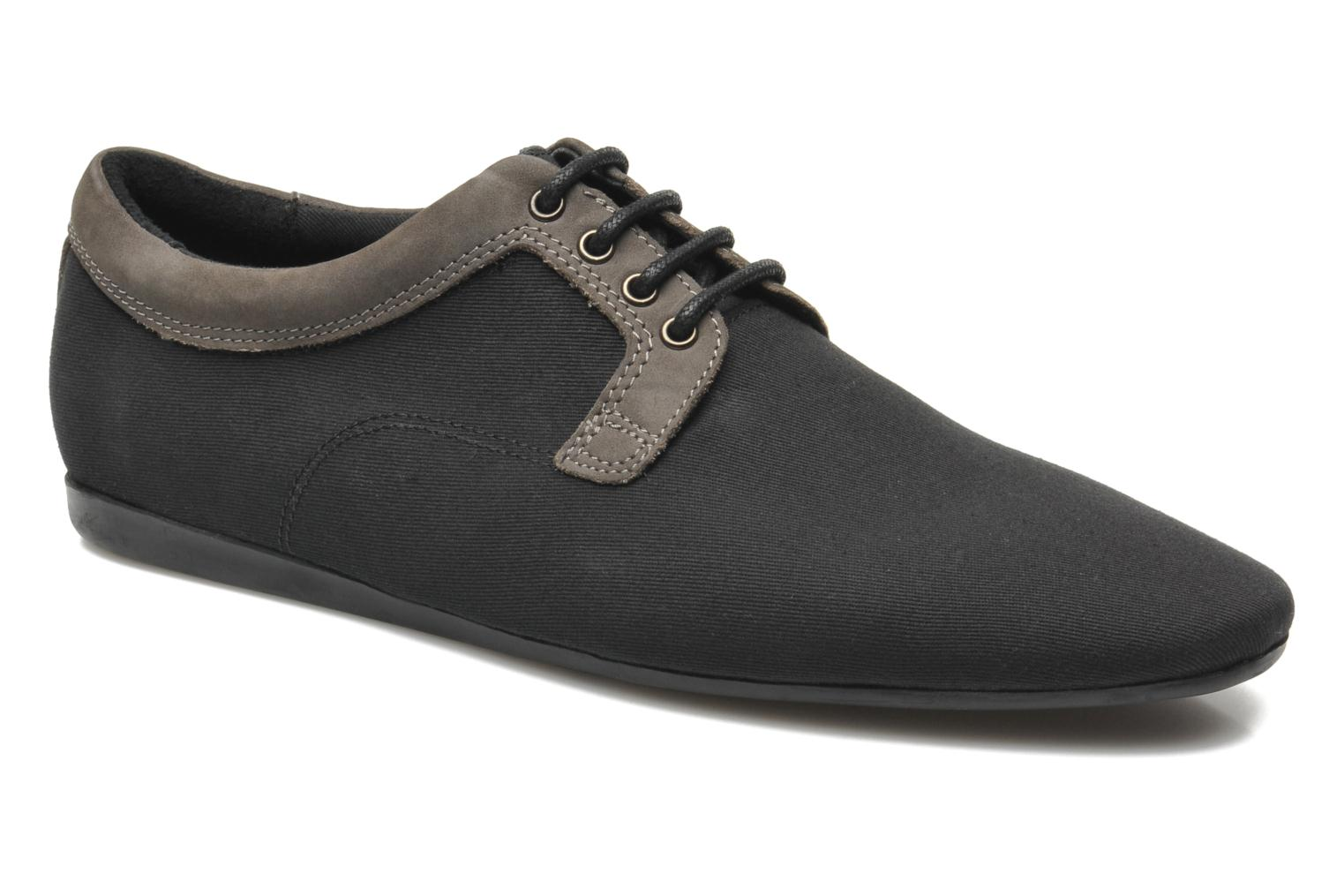 Lace-up shoes Schmoove Fidji Club Black detailed view/ Pair view