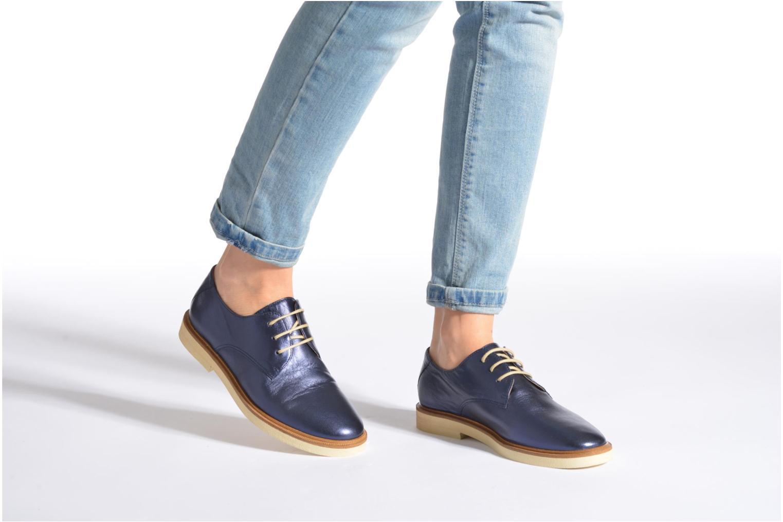 Chaussures à lacets Schmoove Woman Malice Derby Or et bronze vue bas / vue portée sac
