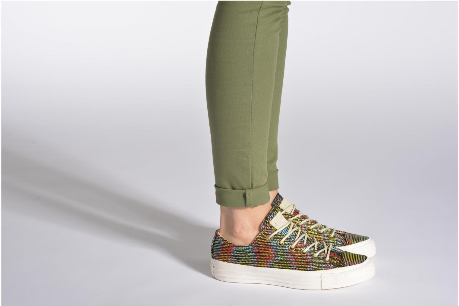 Trainers Converse Chuck Taylor All Star Basket Weave Ox W Multicolor view from underneath / model view