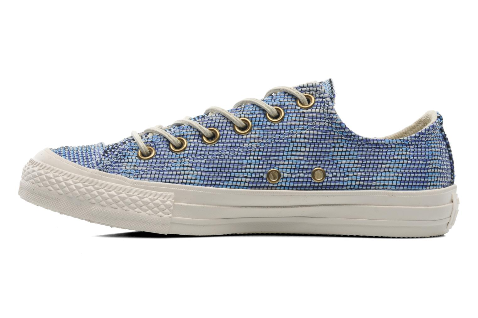 Baskets Converse Chuck Taylor All Star Basket Weave Ox W Multicolore vue face