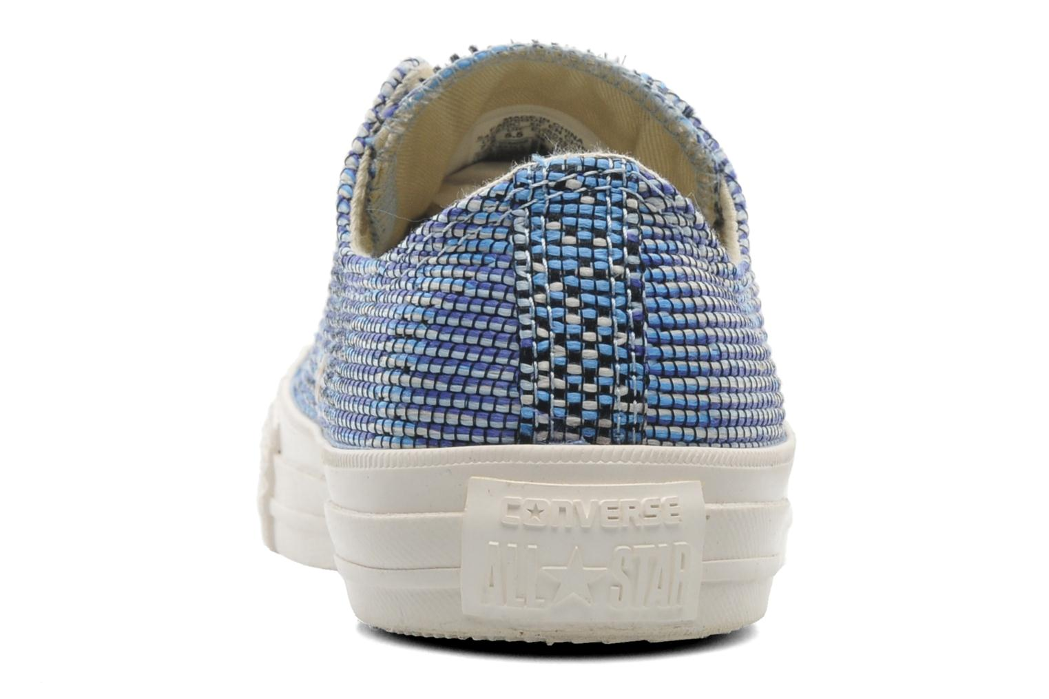 Sneakers Converse Chuck Taylor All Star Basket Weave Ox W Multicolore immagine destra
