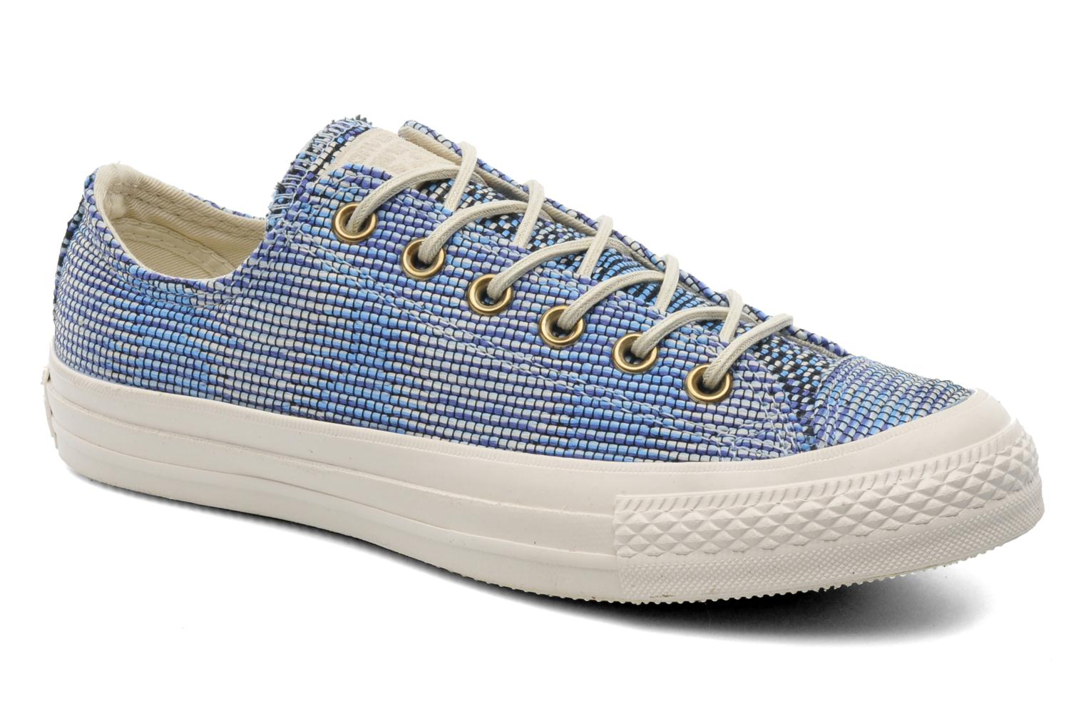 Baskets Converse Chuck Taylor All Star Basket Weave Ox W Multicolore vue détail/paire