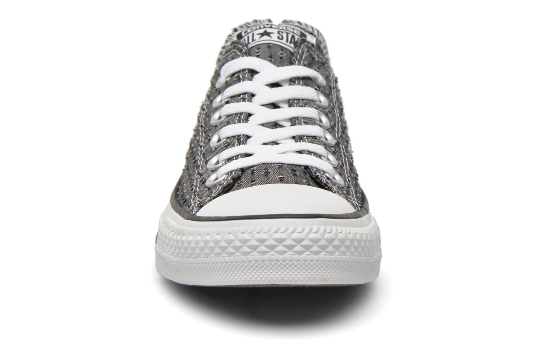 Baskets Converse Chuck Taylor All Star Perf Cvs Ox W Noir vue portées chaussures
