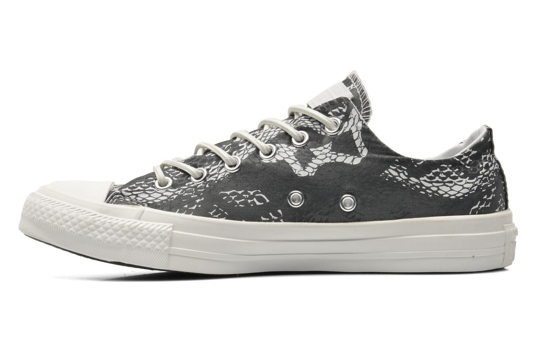 Sneaker Converse Chuck Taylor Reptile Print Ox W schwarz ansicht von vorne
