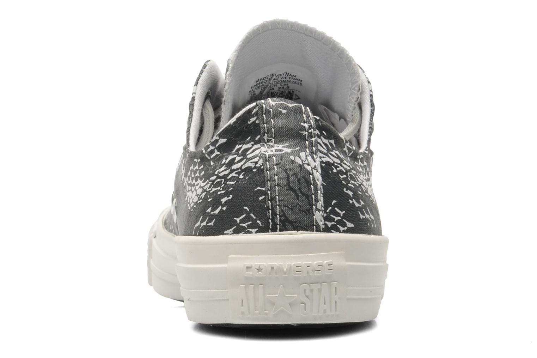 Sneaker Converse Chuck Taylor Reptile Print Ox W schwarz ansicht von rechts
