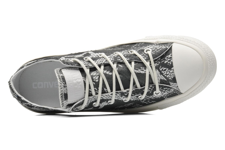 Sneaker Converse Chuck Taylor Reptile Print Ox W schwarz ansicht von links