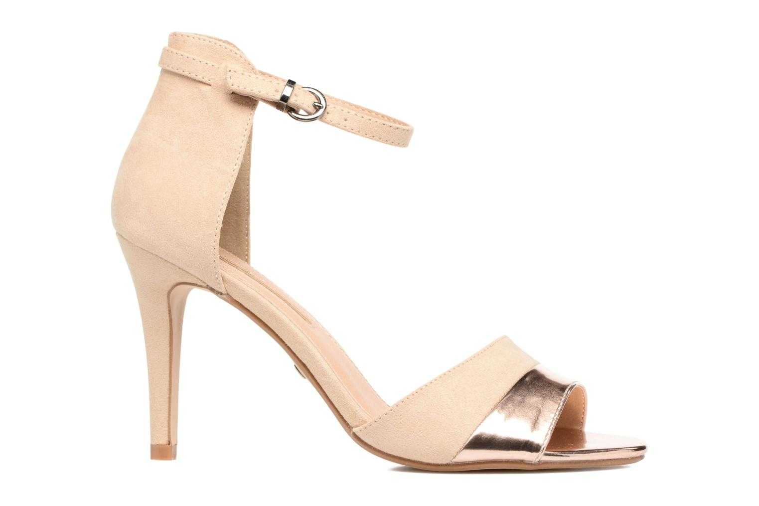 Sandals Buffalo Olivia Beige back view