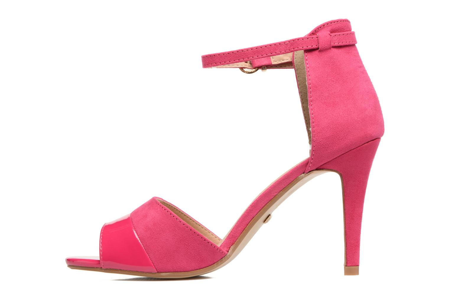 Sandals Buffalo Olivia Pink front view