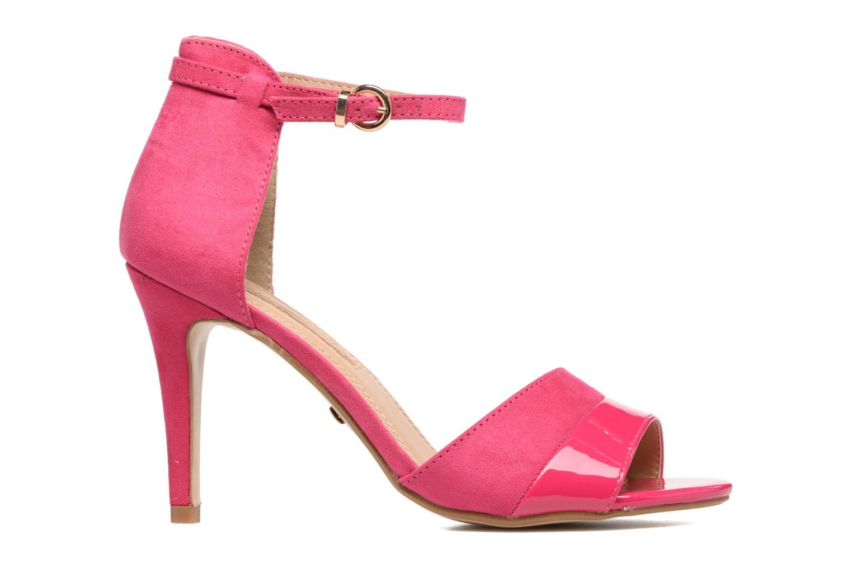 Sandalen Buffalo Olivia rosa ansicht von hinten