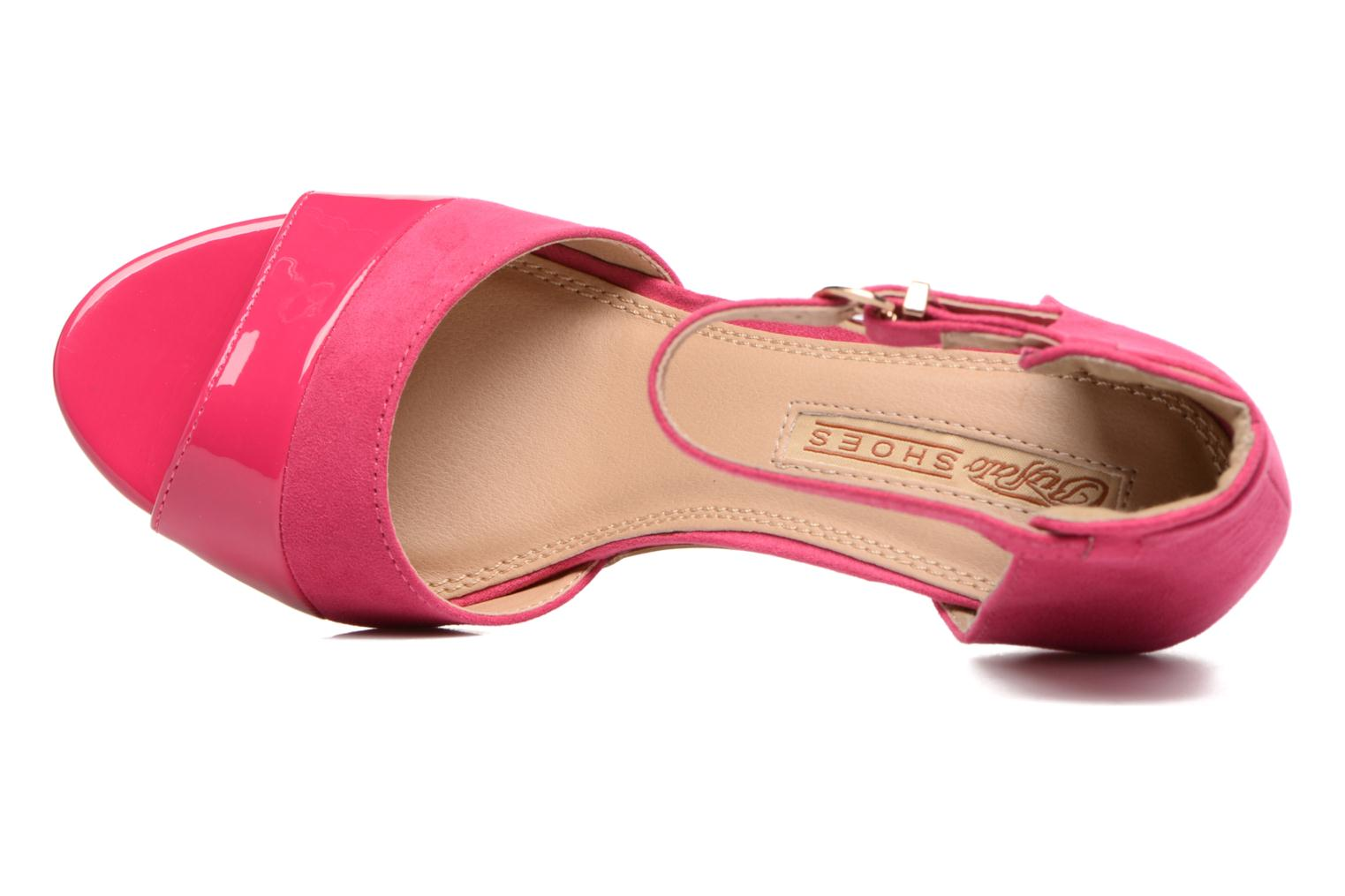 Sandals Buffalo Olivia Pink view from the left