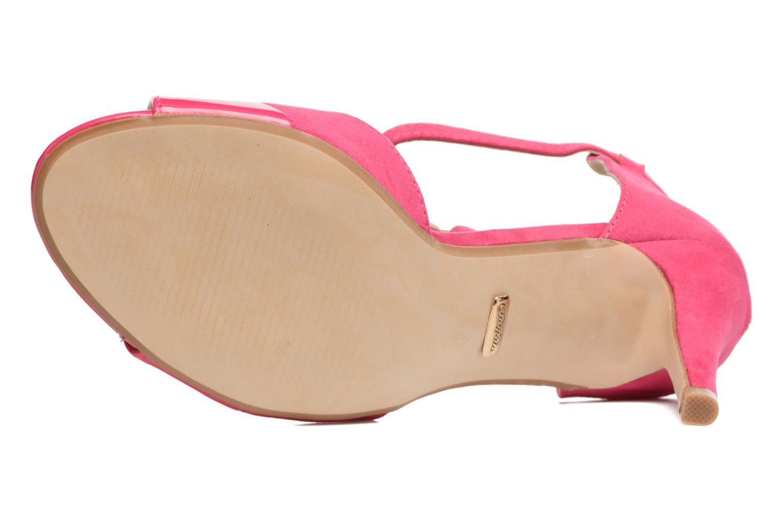 Sandalen Buffalo Olivia rosa ansicht von oben