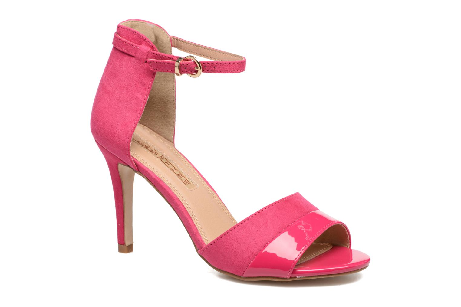 Sandals Buffalo Olivia Pink detailed view/ Pair view