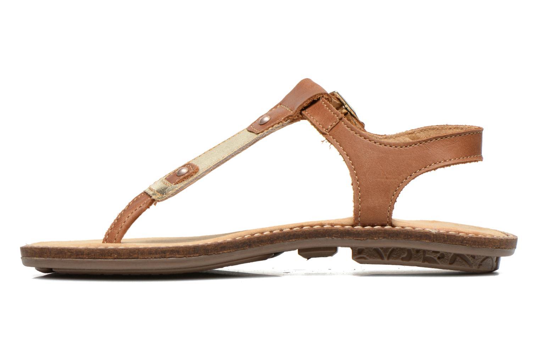 Sandales et nu-pieds Minibel ISOFIA Marron vue face