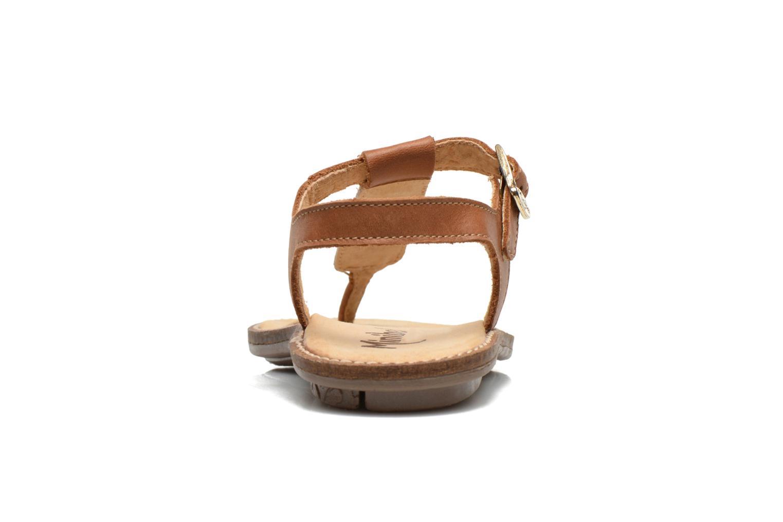 Sandales et nu-pieds Minibel ISOFIA Marron vue droite