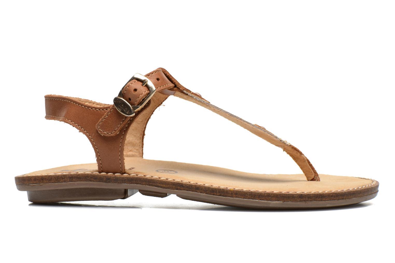 Sandales et nu-pieds Minibel ISOFIA Marron vue derrière