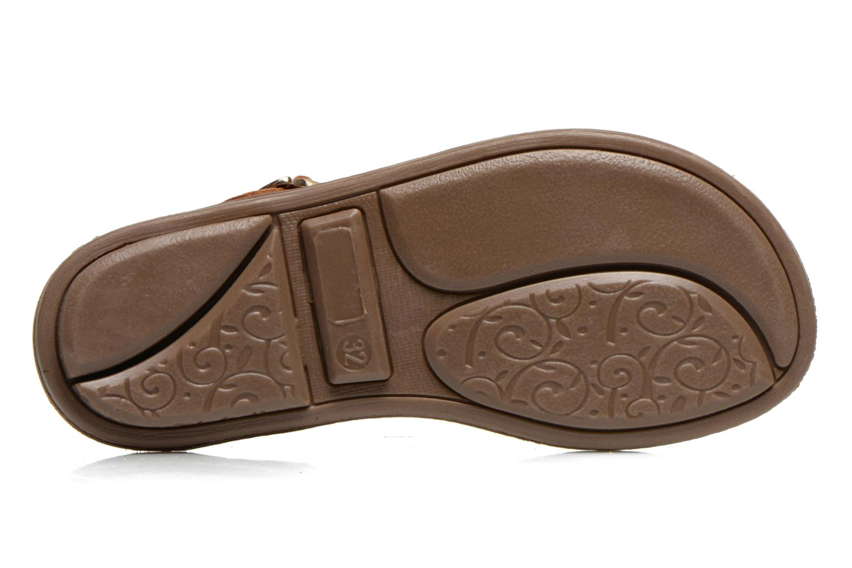 Sandales et nu-pieds Minibel ISOFIA Marron vue haut