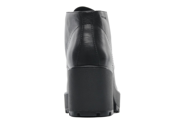 Snörade skor Vagabond DIOON 3947-001 Svart Bild från höger sidan