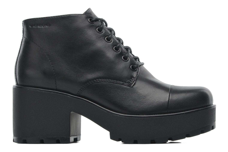 Lace-up shoes Vagabond DIOON 3947-001 Black back view