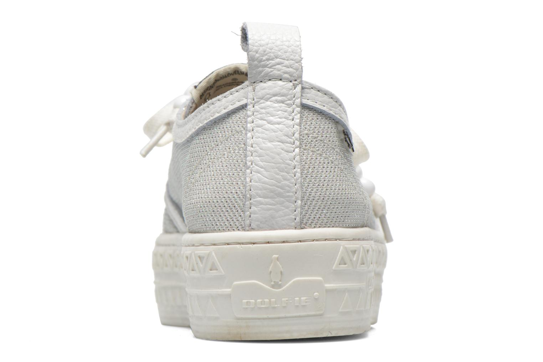 Baskets Dolfie Devon Blanc vue face