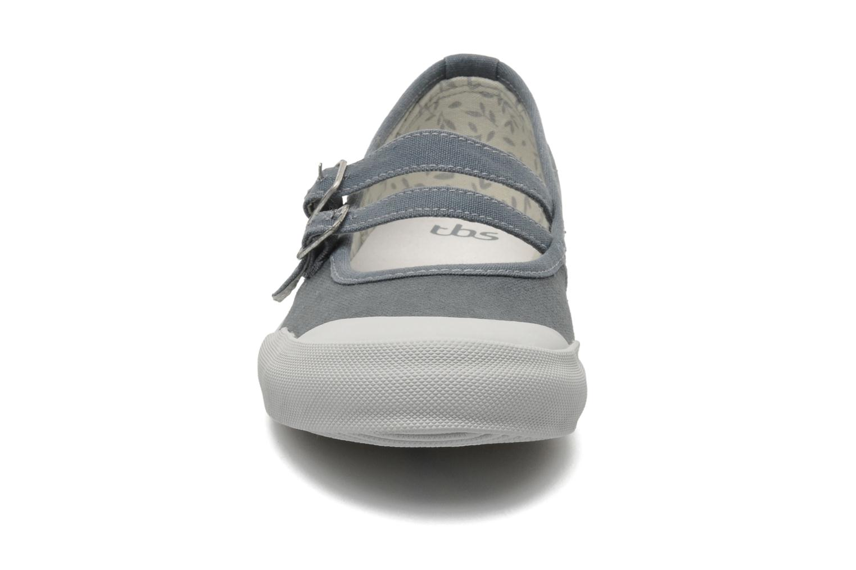 Ballerines TBS Olanno Gris vue portées chaussures