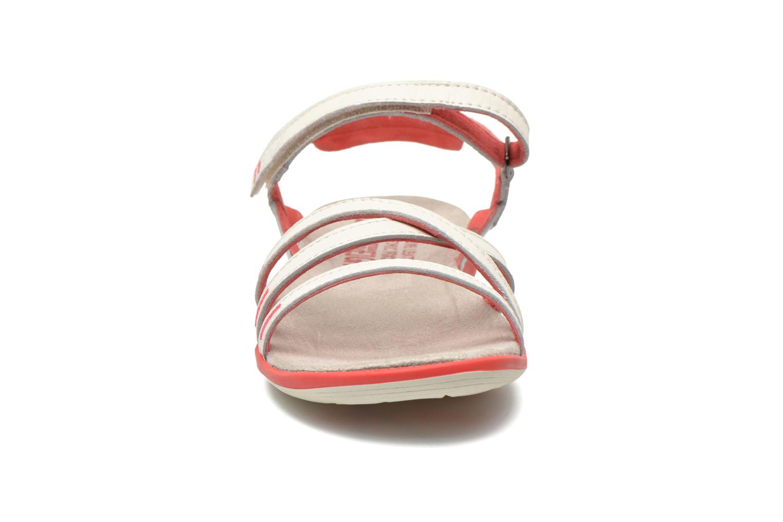 Sandales et nu-pieds TBS Rosita Blanc vue portées chaussures